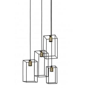 Suspension 4 lampes MARLEY...